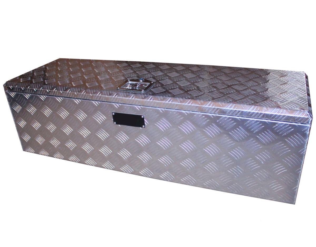 coffre en aluminium avec bac de rangement amovible. Black Bedroom Furniture Sets. Home Design Ideas