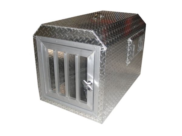 cage en aluminium pour le transport d 39 un chien. Black Bedroom Furniture Sets. Home Design Ideas