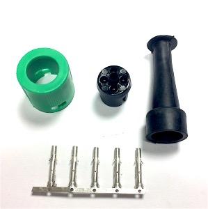 kit connecteur rond aspock vert. Black Bedroom Furniture Sets. Home Design Ideas