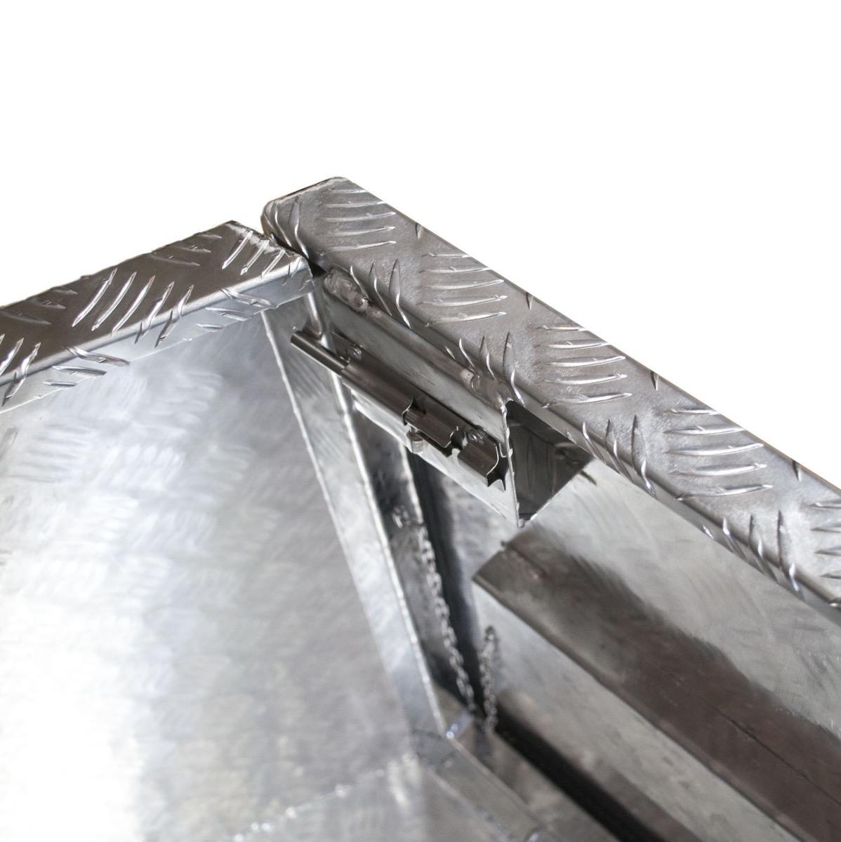 Coffre aluminium trap ze double ouverture 1400 1075 x 410 for Fermeture aluminium