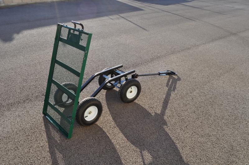 chariot de jardin avec caisse plastique amovible. Black Bedroom Furniture Sets. Home Design Ideas